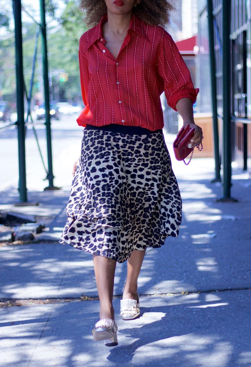 zara leopard print skirts