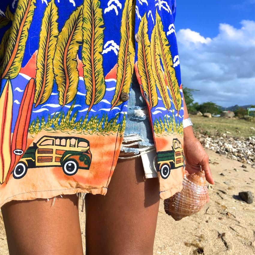 caribbean style shirts