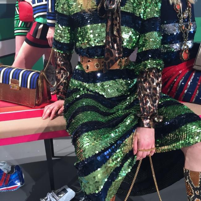 Lanvin sequin dress