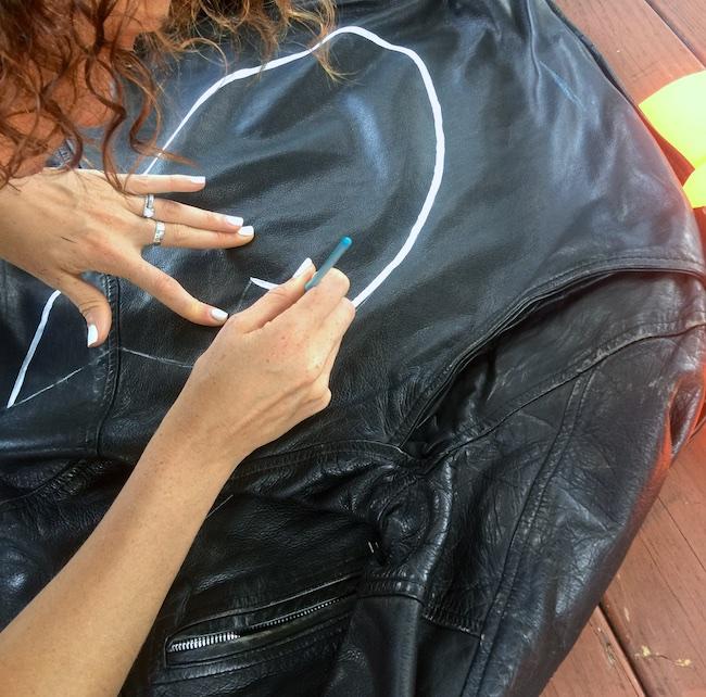 DIY best friends jacket