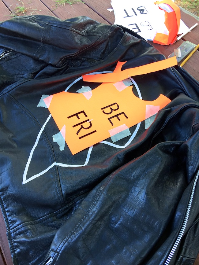 best friend leather jacket