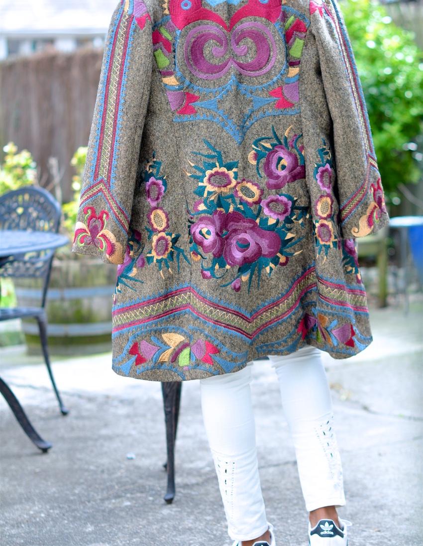 floral coats