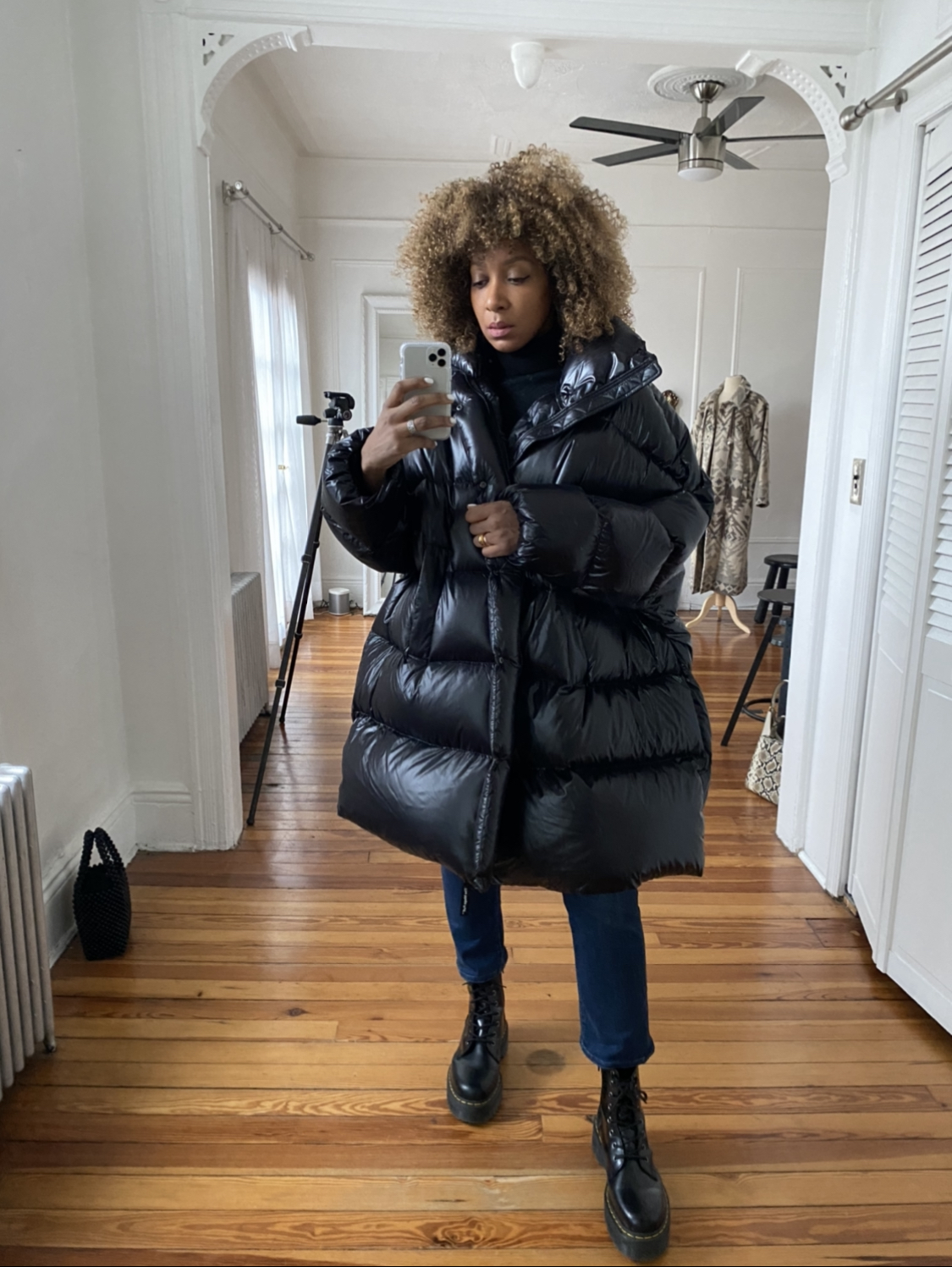 how to style puffer coats