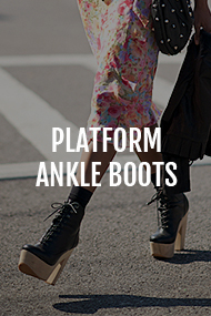 Platform Ankle Boots category on Where Did U Get That