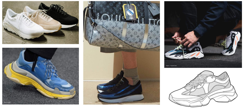 mens ugly sneakers