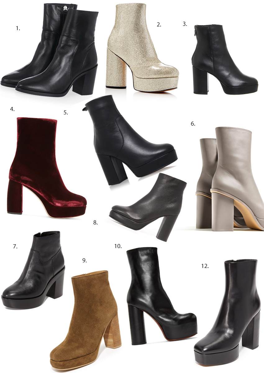 pictures 12 High-Heel Ankle Boots to Wear Out atNight
