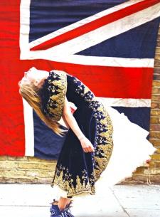British fashion editorial