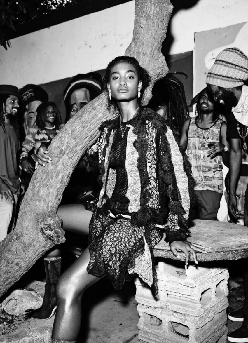 Elle fashion editorial
