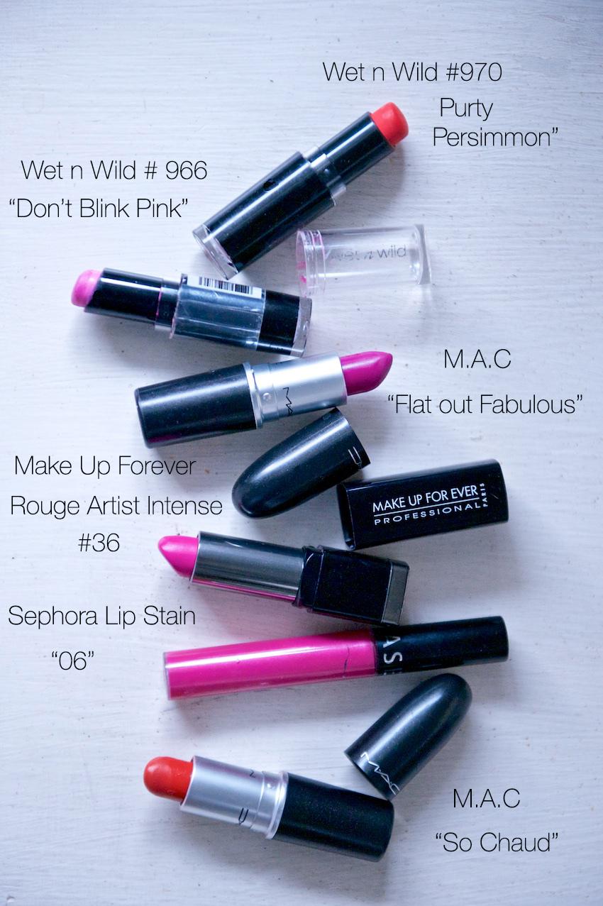 best bright summer lipsticks