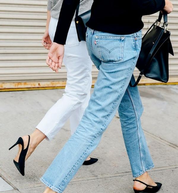 Straight cut levi jeans