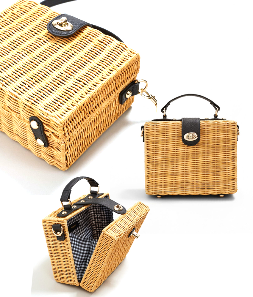 The best wicker basket bags