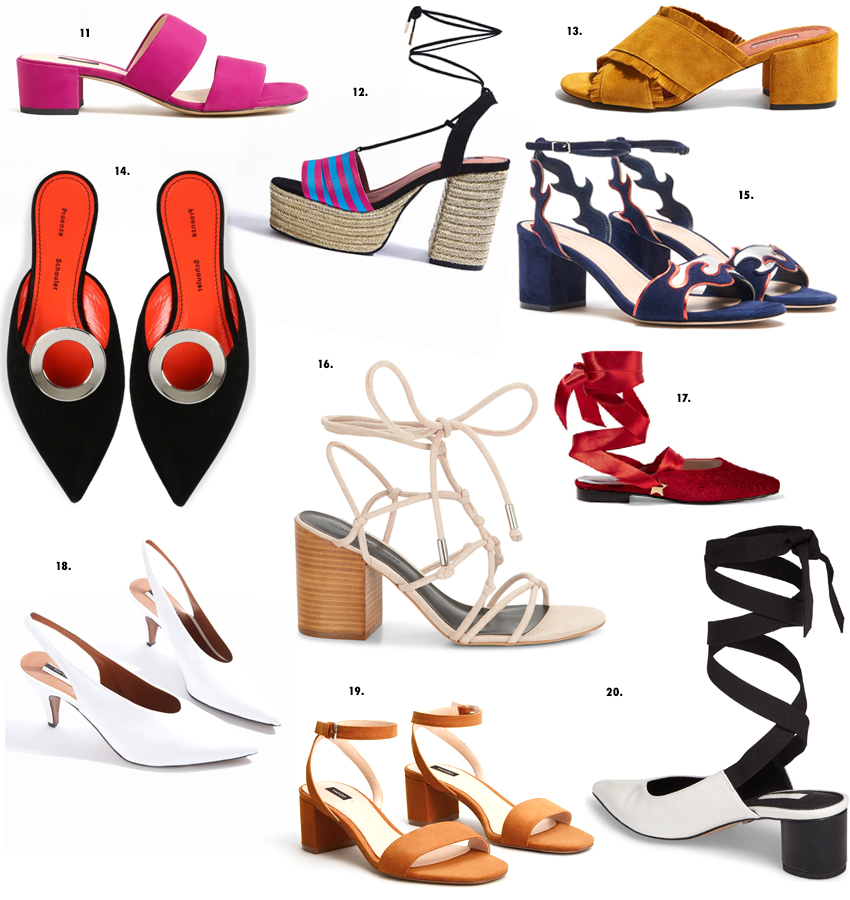 best spring shoes