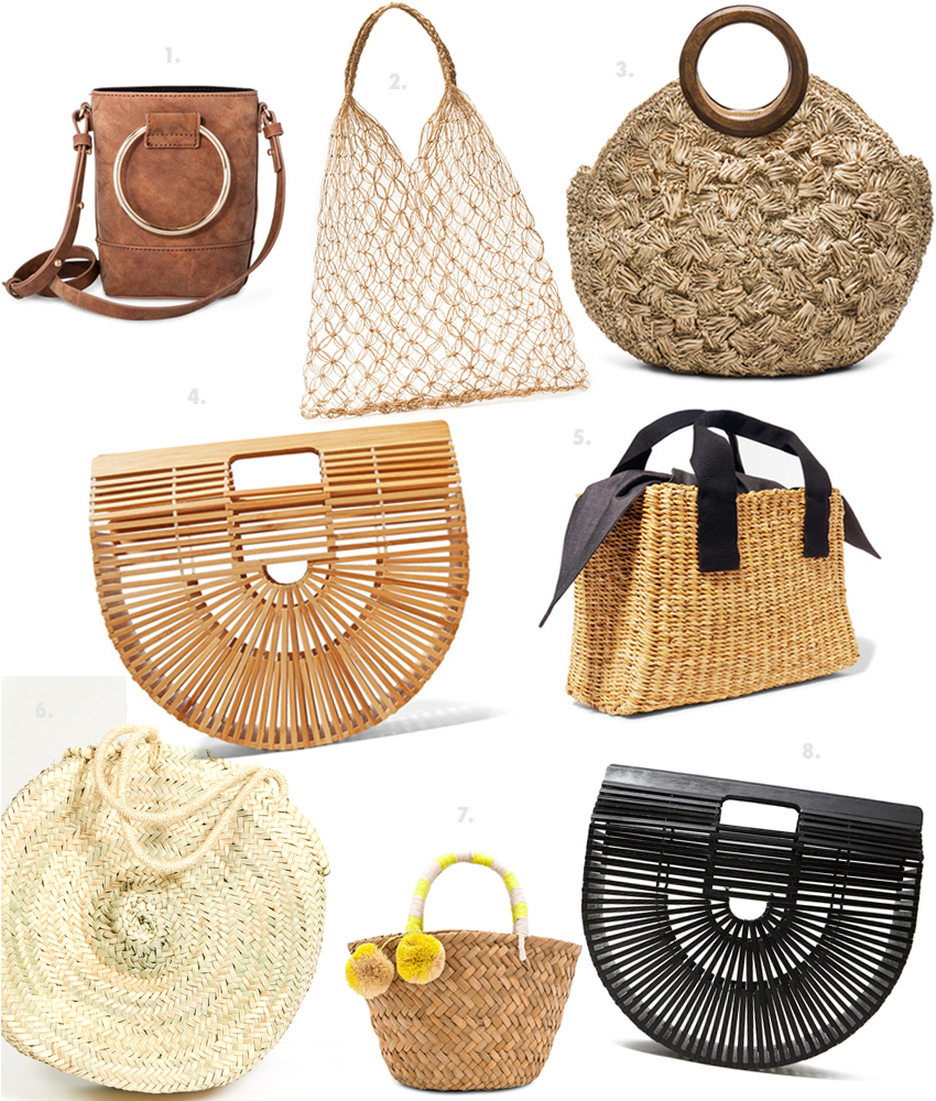 the best straw wicker bags for 2017