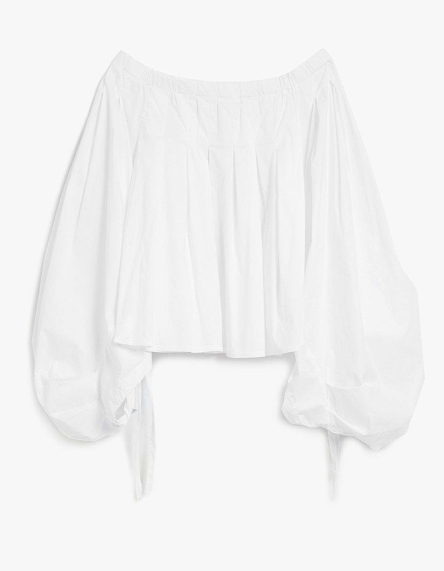 statement sleeve blouses