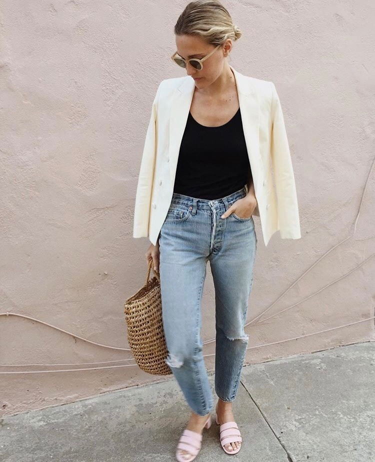 how to style denim jeans