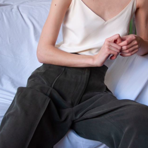 how to style a silk camisole